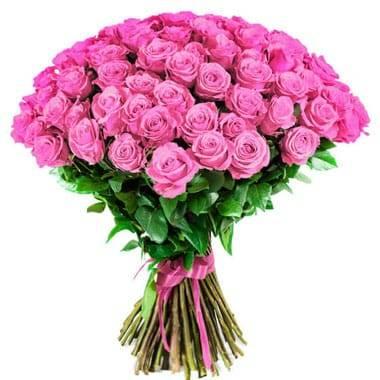 Fleurs en Deuil | image du Bouquet de Roses Roses longues tiges