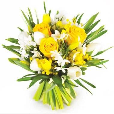 Fleurs en Deuil  | Image du bouquet de fleurs Boucle D'Or