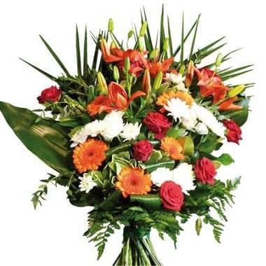 Fleurs en Deuil | image du bouquet de fleurs de deuil Voie Lactée